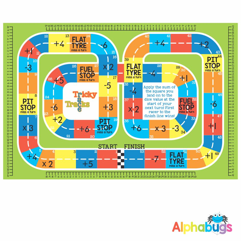 Mat Game – Tricky Race Tracks