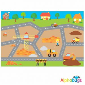 Playmat – Boys at Work (Large)