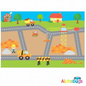Playmat – Boys At Work (Small)