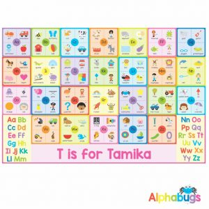 Playmat – Learning Letters 1 (Small)