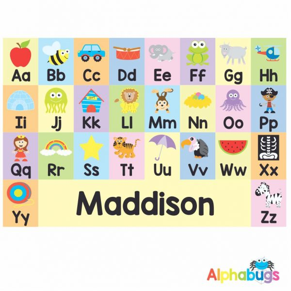 Playmat – Learning Letters 2 (Small)
