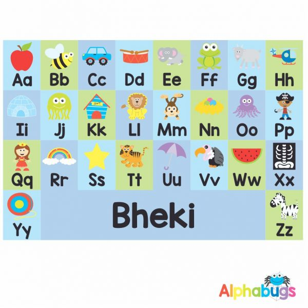 Playmat – Learning Letters 3 (Small)