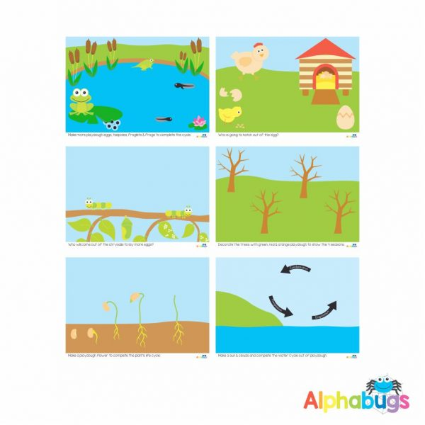 Playdough Mat – Cycles in Nature – All
