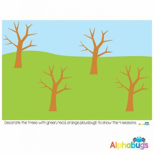 Playdough Mat – Cycles in Nature 4