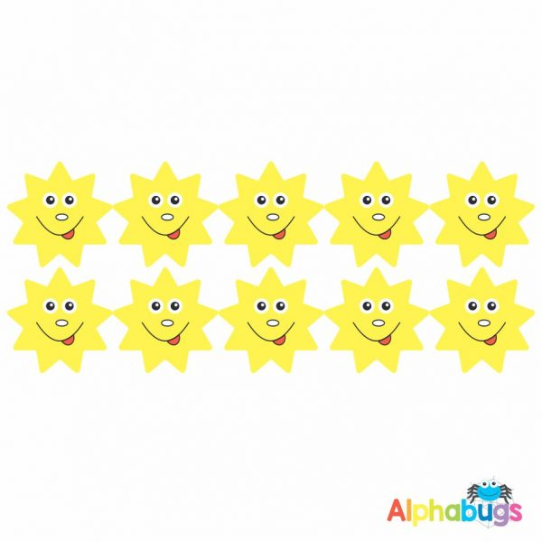 Smiley Stickers – Smiley Suns
