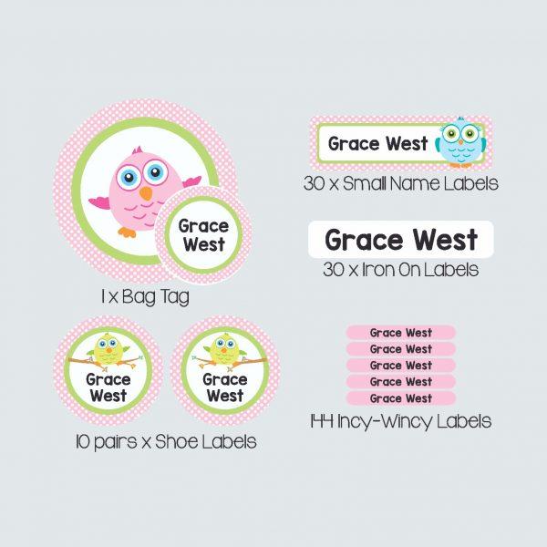 Essential Kids Label Pack – Tweety Pies