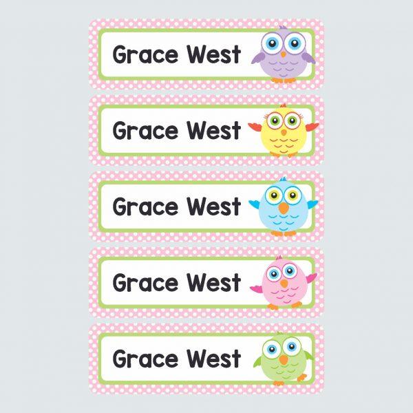 Large Name Labels – Tweety Pies