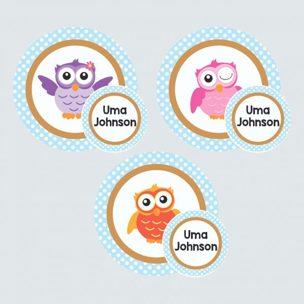 Zip Tags – Wise Owls