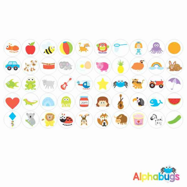 Themed Stickers – Alliterative Alphabet