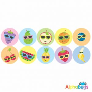 Themed Stickers – Cutie Fruity