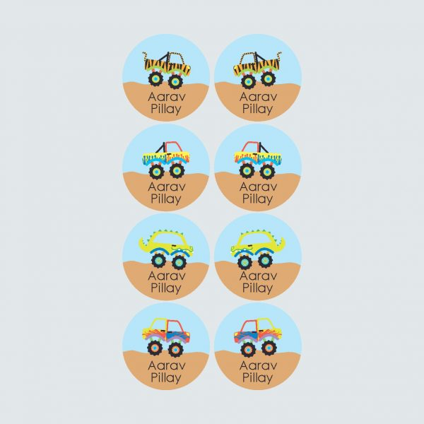 Shoe Labels – Monster Movers