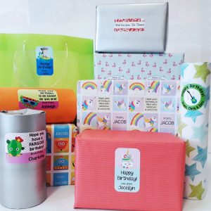 Gift Labels & Wrapping Paper