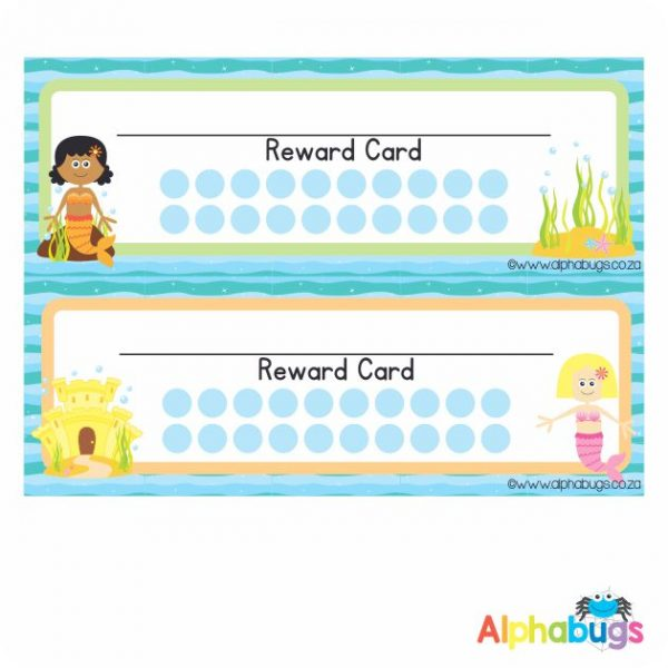 School Reward Cards – Magical Mermaids
