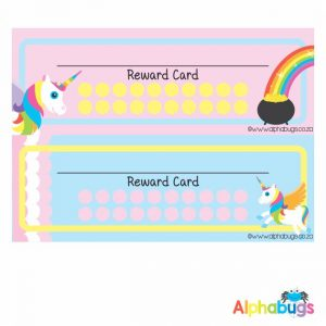 School Reward Cards – My Little Unicorn