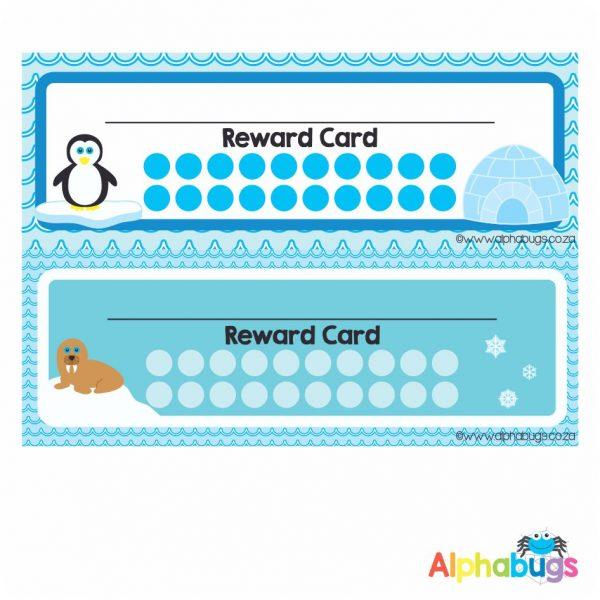 School Reward Cards – Polar Pals