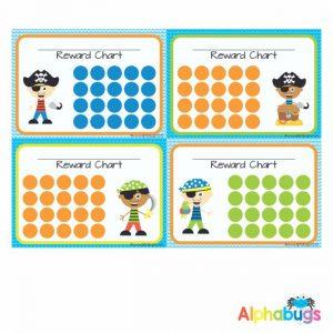 School Reward Chart – Ahoy There Matey Boys