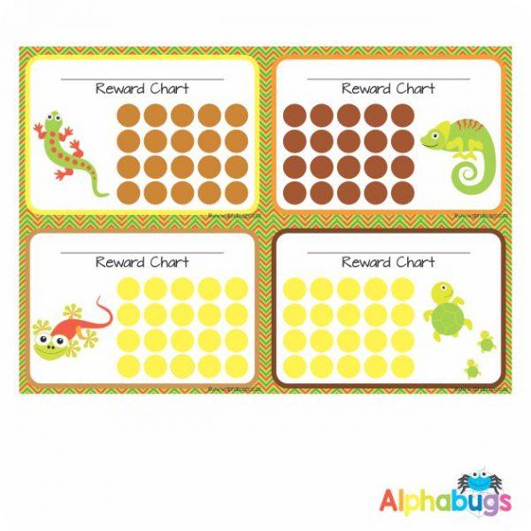 School Reward Chart – Creeping Critters