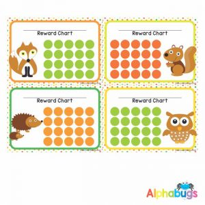 School Reward Chart – Forest Friends
