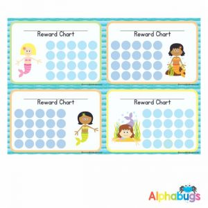 School Reward Chart – Magical Mermaids