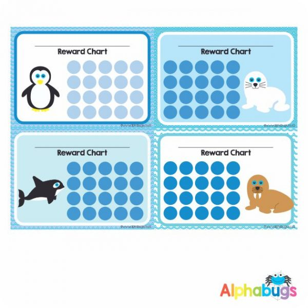School Reward Chart – Polar Pals