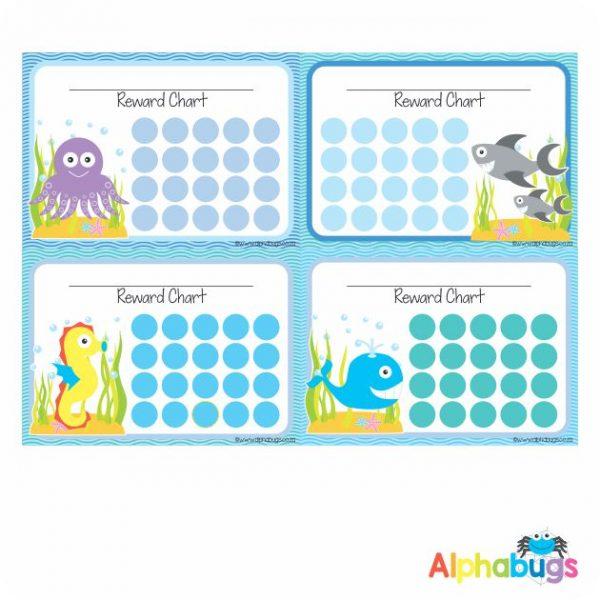 School Reward Chart – Under The Sea