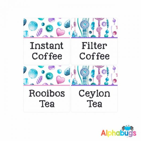 Canister Labels – Jessica
