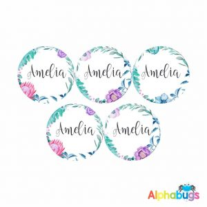 Large Round Labels – Amelia