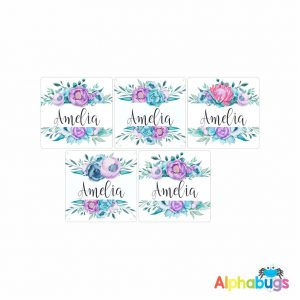 Square Labels – Amelia