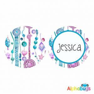 Bag Tag – Jessica