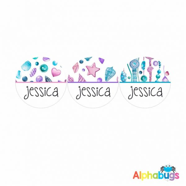 Large Round Labels – Jessica