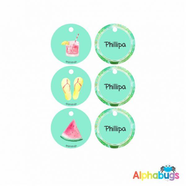 Zip Tags – Phillipa