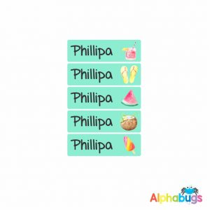 Small Name Labels – Phillipa