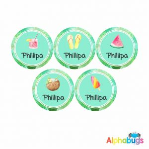 Large Round Labels – Phillipa