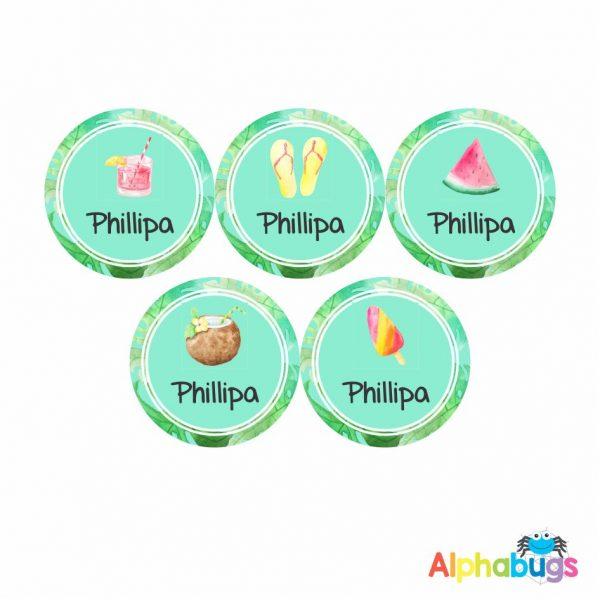 Large Round Labels – Phillipa