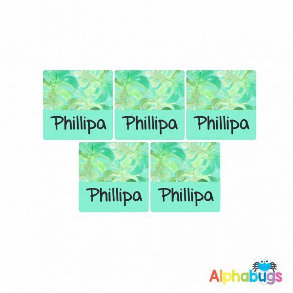 Square Labels – Phillipa