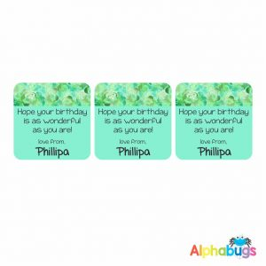 Gift Labels – Phillipa (Square)
