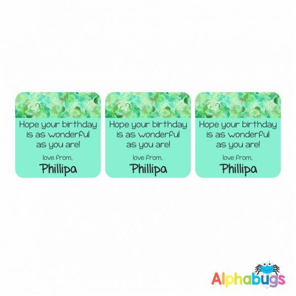 Gift Labels – Phillipa (Square)