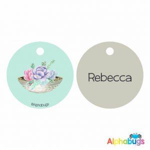 Bag Tag – Rebecca