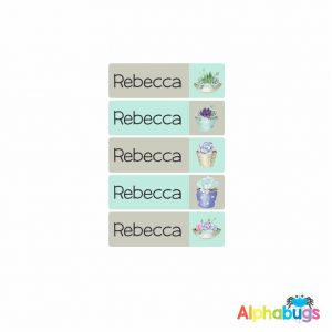 Large Name Labels – Rebecca
