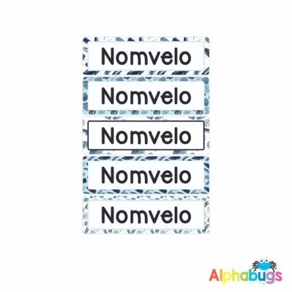 Large Name Labels – Nomvelo