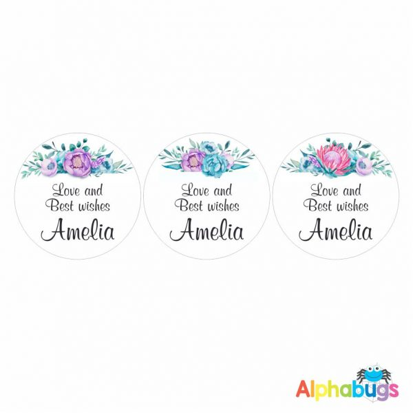 Gift Labels -Amelia (Round)