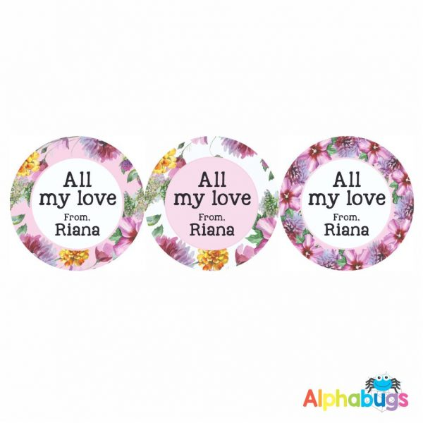 Gift Labels -Riana (Round)