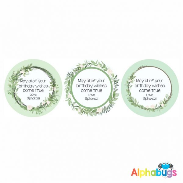 Gift Labels -Siphokazi (Round)
