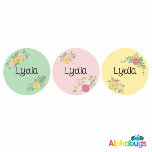 Large Round Labels – Lydia