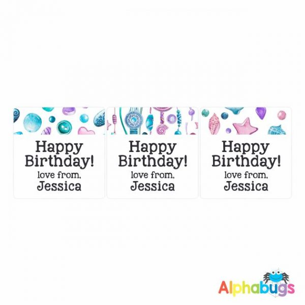 Gift Labels – Jessica (Square)