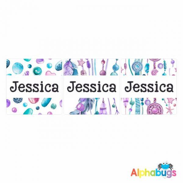 Square Labels – Jessica