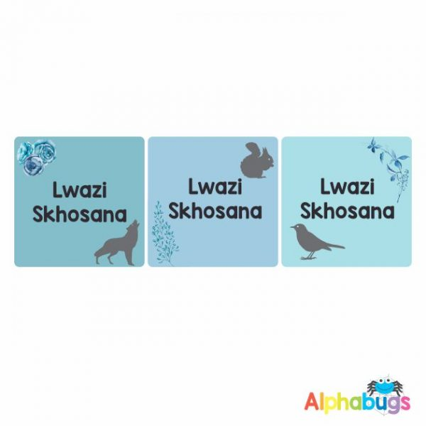 Square Labels – Lwazi