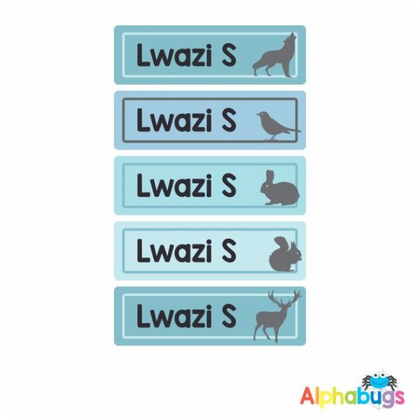 Large Name Labels – Lwazi