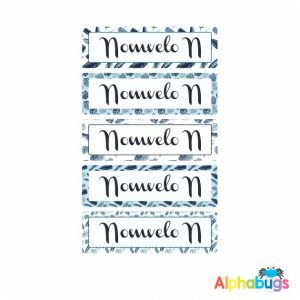 Large Name Labels – Nomvelo