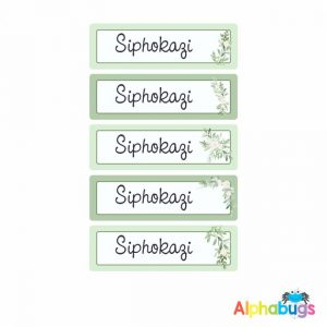 Large Name Labels – Siphokazi